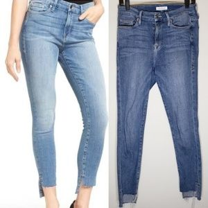 Good American Good Legs Skinny Jeans Size 8/29